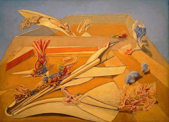 Max Ernst (1891-1976), Jardin gobe-avions, 1935