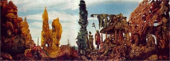 Max Ernst, Europa després de la pluja, 1940-42
