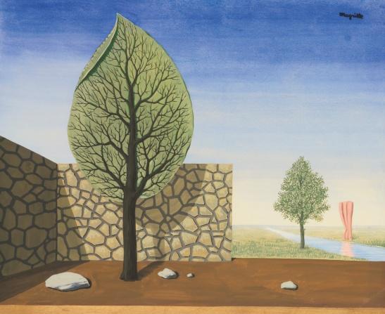 René Magritte - The Giant (La Géante} [1936]